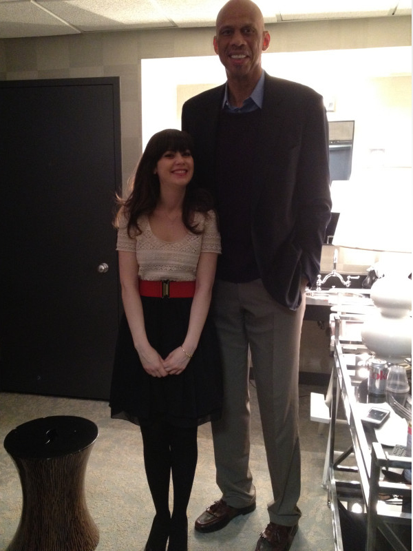 New Girl_Kareem and Zooey