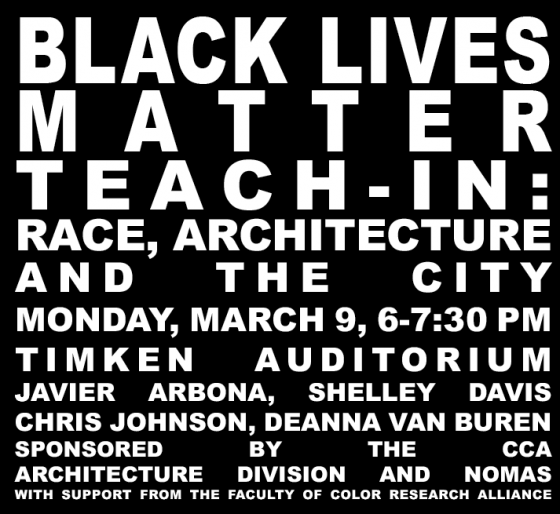 black lives matter teach-in