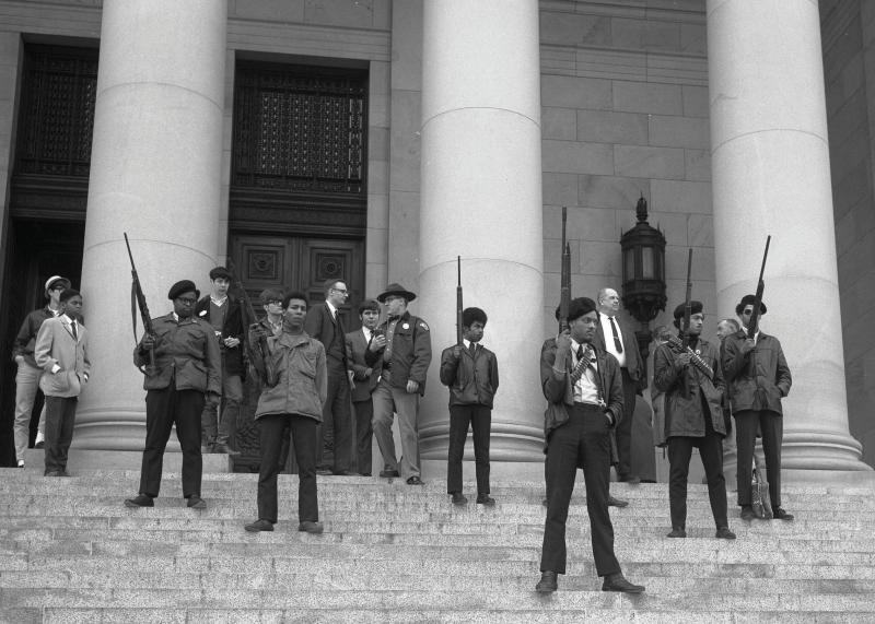 Black Panther Protest